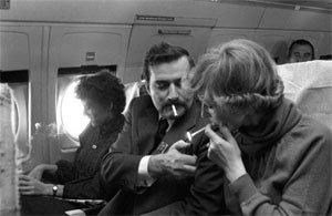 Пушенето на борда на самолета