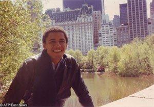 19 годишния Барак Обама, 1980