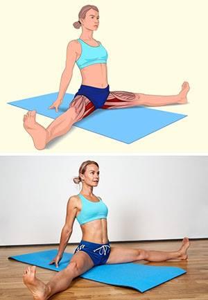 Разтягане на тазовите мускули