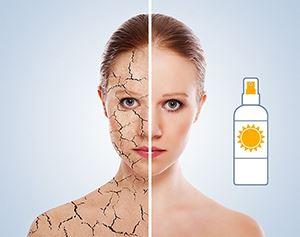Термална вода за суха кожа