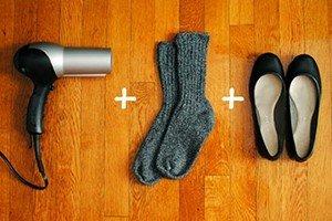 Лесен начин да разтъпчете обувките си