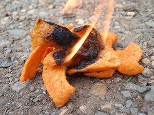 Много лесно можете да запалите огън