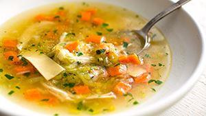 Супа с костен бульона