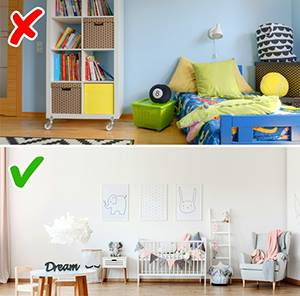 Ярко оцветена детска стая