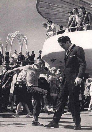 Младия Кърт Ръсел среща Елвис Пресли, 1963